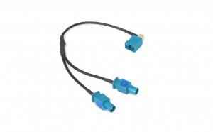 Adaptor antena fakra A9663 soclu fakra la mufa dubla