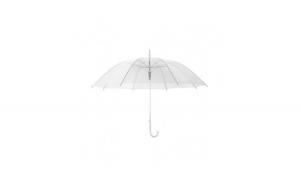 Umbrela pliabila transparenta, rezistenta la vant