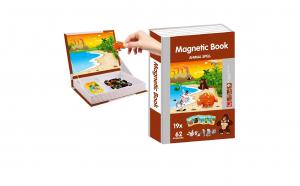 Joc educativ Cartea cu Animale magnetice