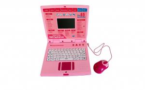 Laptop cu 65 functii, roz