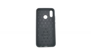 Husa Huawei P20 Lite Tpu, carbon, Negru