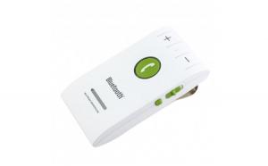 Car Kit Bluetooth Techstar® 6E  Wireless  Bluetooth 4.1  MultiPoint  Microfon Integrat  Acumulator  Difuzor 2W