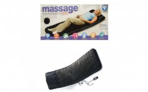 Saltea cu masaj si incalzire, ideala pentru casa sau birou -  9 zone