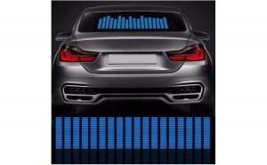 NOU! Sticker egalizator luneta auto universal LED, la doar 169 RON in loc de 299 RON! VEZI VIDEO !