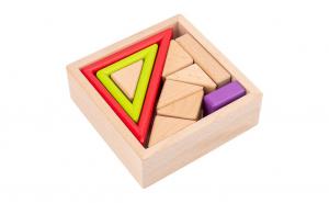 Set Cuburi constructie si stivuit Lemn