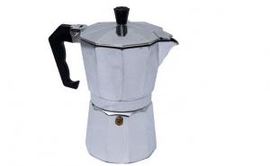 Espressor pentru 3 cesti Ertone, ŸAluminiu, 90 ml, la 25 RON in loc de 49 RON