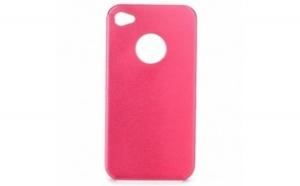Husa metalica pentru iPhone 4/4S Roze