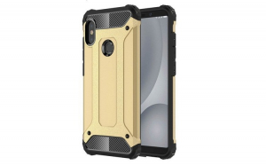 Husa Hybrid Armor Tough Rugged pentru Xiaomi Redmi Note 5 (dual camera)   Redmi Note 5 Pro golden