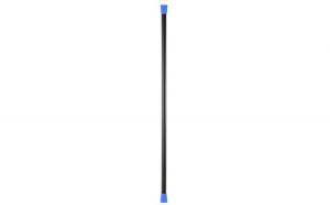 Bara greutate 2 kg Negru-Albastru L125cm