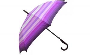 Umbrela Femei  automata roz multicolor 110cm diametru - anti-vant la doar 24.99 RON