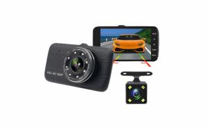 Camera auto dubla DVR dual LENS 10 LED IR