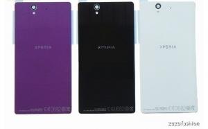 CAPAC SPATE BATERIE Sony Xperia Z L36h L36 LT36I C6602 C6603 ORIGINAL + adeziv