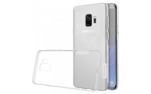 Nillkin Nature TPU Husa Gel Ultra Slim Cover pentru Samsung Galaxy S9 G960 transparent