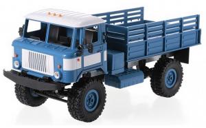Camion Militar WPL B-24 1:16 4x4 2.4GHz RTR - albastru