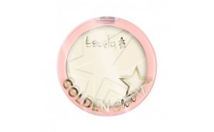 Pudră compactă Lovely Golden Glow New Edition 01, 10 g