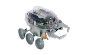 Kit robot de construit Scarab, detector de obstacole, recomandat +14 ani, cu baterii