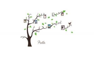 Autocolant Sticker Decorativ Copac cu
