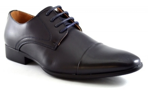 Pantofi barbatesti bleumarin eleganti -