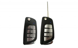 Kit Telecomanda pentru inchidere centralizata cu iesire Sirena,2x chei