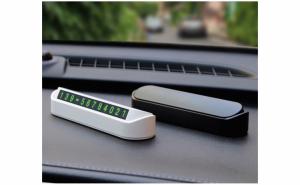 Set 2 x Suport pentru numarul de telefon cu cifre magnetice pentru bordul masinii