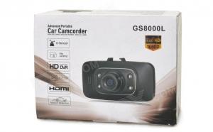 Camera auto full HD GS8000L + card 8 Gb Cadou, la 179 RON in loc de 419 RON