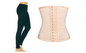 Colant vatuit fara cusatura + Centura modelatoare tip corset