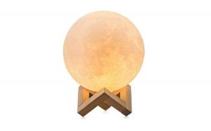Lampa LED forma de luna plina