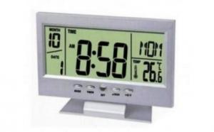 Ceas electronic digital cu afisaj LCD si termometru, la doar 49 RON in loc de 99 RON