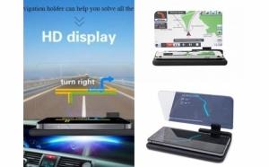 Suport auto pentru telefon cu head up display