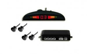 Sistem de asistenta parcare cu 4 senzori si afisaj cu LED, la doar 89 RON in loc de 209 RON! Garantie 12 luni!
