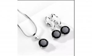 Set bijuterii placat cu Argint