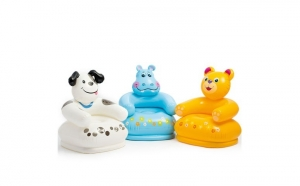 Scaun gonflabil pentru copii Happy