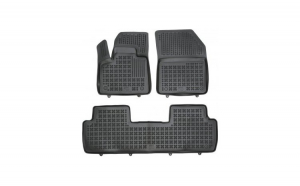 Covorase presuri cauciuc Premium stil tavita Peugeot 5008 II 2017-2020