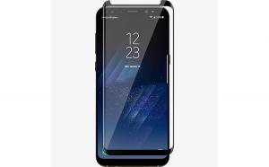 Folie sticla 3D, Full Glue, Samsung Galaxy S9, ecran complet, Negru