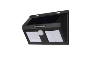 Lampa solara dubla, cu 96 LED-uri si senzor de miscare