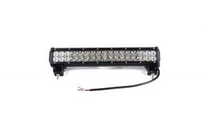 LED Bar auto 108W + kit cabluri releu buton, 10800 lumeni