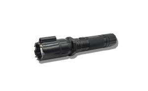 Lanterna cu Electrosoc si Laser MRG P-288, Aluminiu, Reincarcabila, Negru C386
