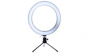 Trepied mini Tiktok cu lampa circulara LED , diametru 16cm , JRH SE-16