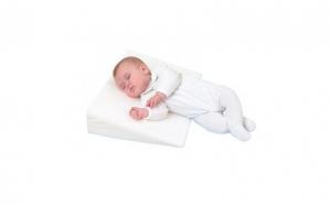 Perna pentru bebelusi cu plan inclinat contra refluxului si digestiei respiratiei copilului, 35x25x7 cm, ATS