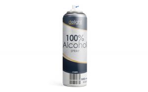Spray Alcool 100% - 500 ml GLZ-17289C