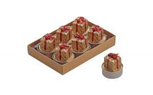 Set cadou de 6 lumanari  model  CUTIE