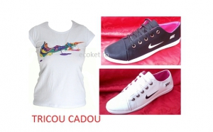 Lichidare de stoc! Pantofi sport comozi si practici + Tricou CADOU pentru dama, la doar 69 RON in loc de 159 RON