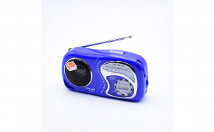 Radio Portabil Cu Baterii Si Ceas ,AM,FM,TV, 3 benzi radio, KALADE K-2019