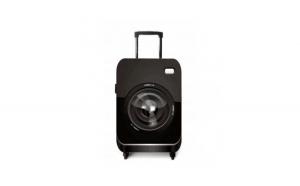 Husa de protectie pentru troler, model camera foto, marimea S, negru