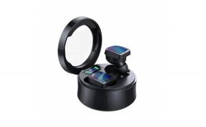 Casti Smart Techstar® TWS S30  Wireless  Bluetooth V5.0  IPX6  HD Audio  Touch  iOS  Android  Type-C  Negru