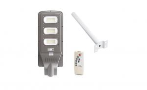 Lampa solara Stradala 90W, cu senzor de miscare si suport de prindere inclus