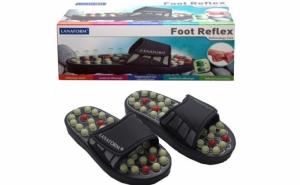 Papuci reflexoterapie,la doar 49 RON de la 139 RON