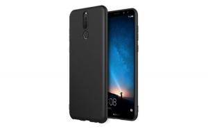 Husa protectie slim, Huawei Mate 20 Pro, Negru