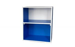 Raft organizator pentru baie albastru