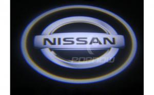 Holograme usi led cu baterii,Nissan